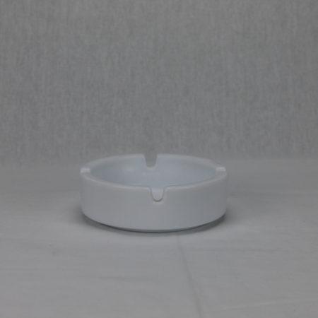 Asbak wit glas