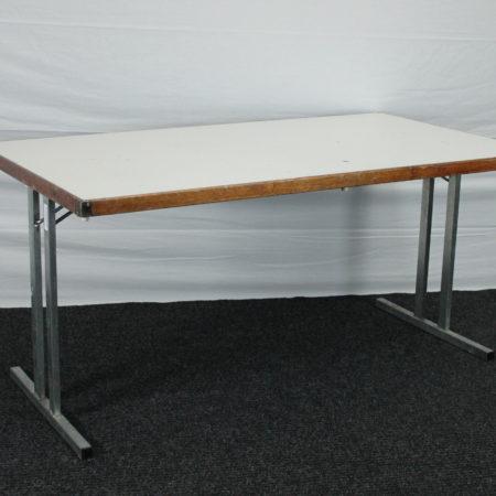 Klaptafel 150 x 85 cm met trespa bovenblad