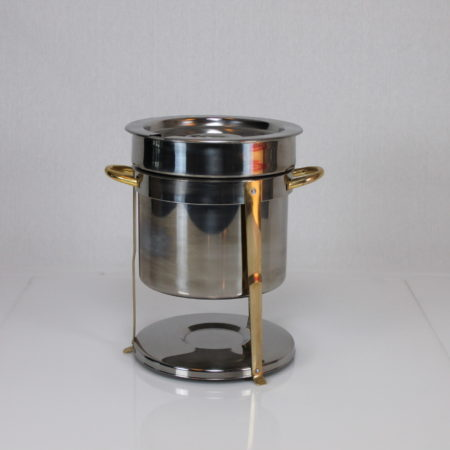 Chafing Dish rond/hoog