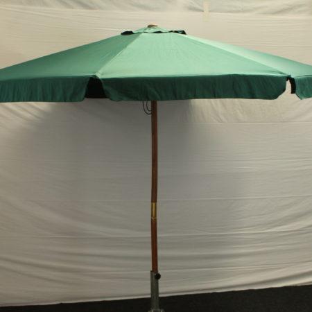 Parasol donker groen 300 cm doorsnede