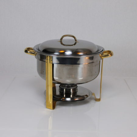 Chafing Dish rond/plat