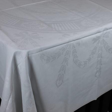 Tafellinnen wit 206 x 206 cm