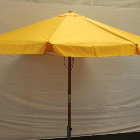 Parasol geel 300 cm doorsnede