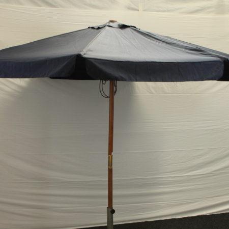 Parasol donker blauw 300 cm doorsnede