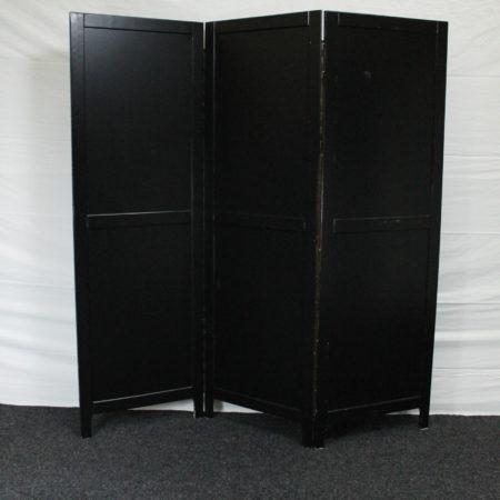 Scheidingswand/kamerscherm zwart