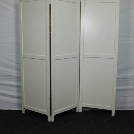 Scheidingswand /kamerscherm wit