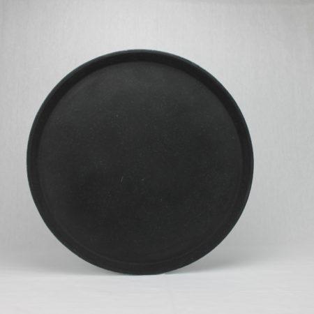 Dienblad zwart 36 cm doorsnede