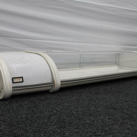 Koelvitrine tafelmodel 100 x 30 cm