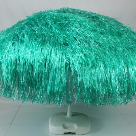 Parasol groen raffia 180 cm