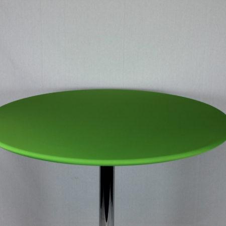 Statafel topje licht groen