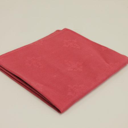 Tafellinnen oud roze 100 x 100 cm