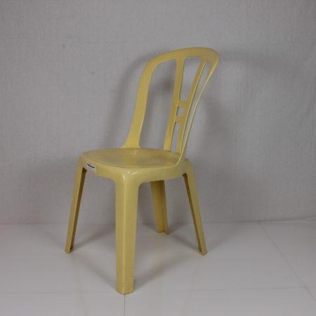 Bistrostoel geel