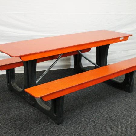 Bankenset foldtable 205 x 135 cm