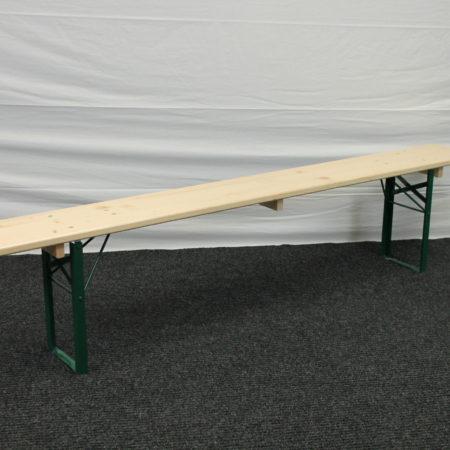 Bankje 220 x 25 cm zware constructie