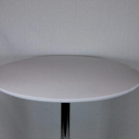 Statafel topje wit