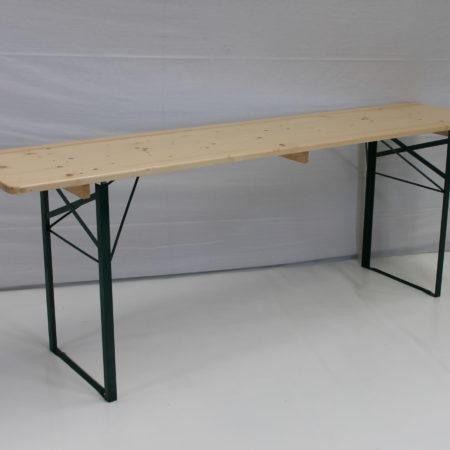 Klaptafel 220 x 50 cm