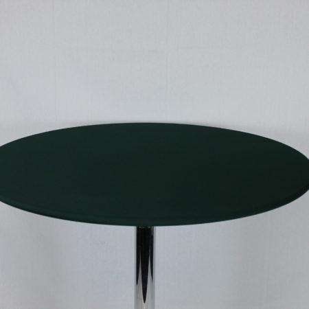 Statafel topje donker groen