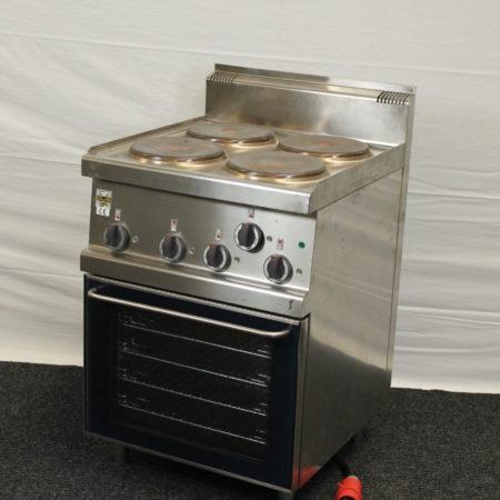Kooktoestel 4 pits met oven