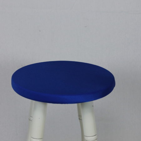 Barkruk topje donker blauw
