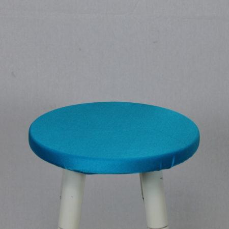 Barkruk topje licht blauw