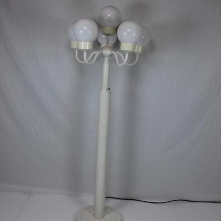 Lantaarn verstelbaar 6 bollen wit