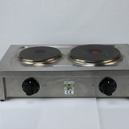 Kooktoestel 2 pits 380 Volt