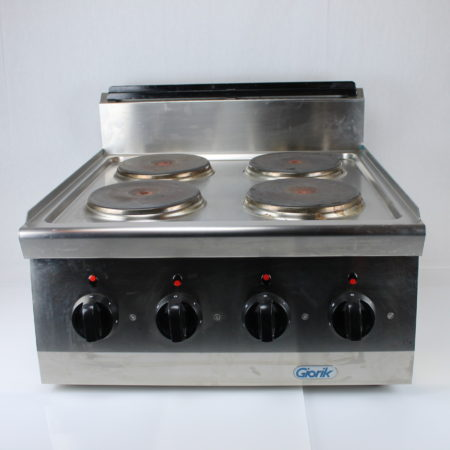 Kooktoestel 4 pits 380 Volt