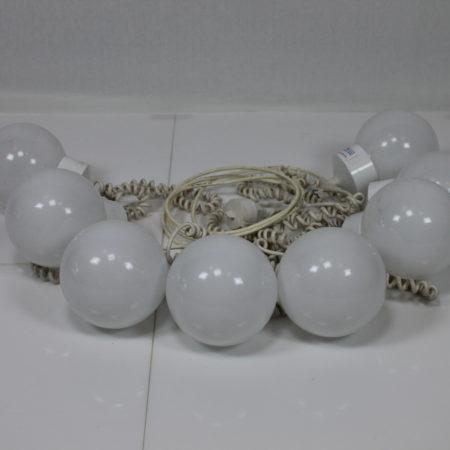 Partylight 8 bollen koppelbaar