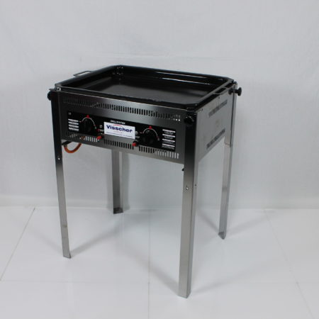 Barbecue, bakplaat afm. 65 x 50 cm, incl gas