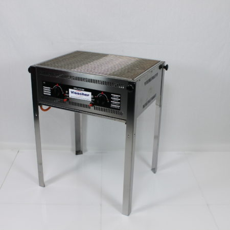 Barbecue met rooster 65 x 50 cm inclusief gas