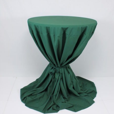 Statafelrok groen met strik