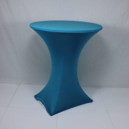 Statafelhoes stretch licht blauw