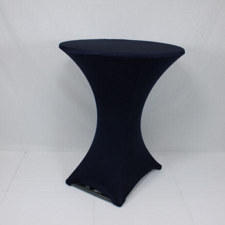 Statafelhoes stretch donker blauw